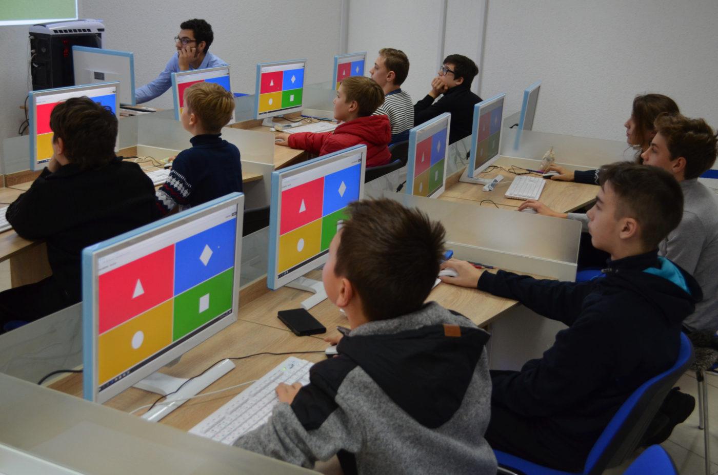 Новости школы: Зимний детский IT-лагерь в Харькове