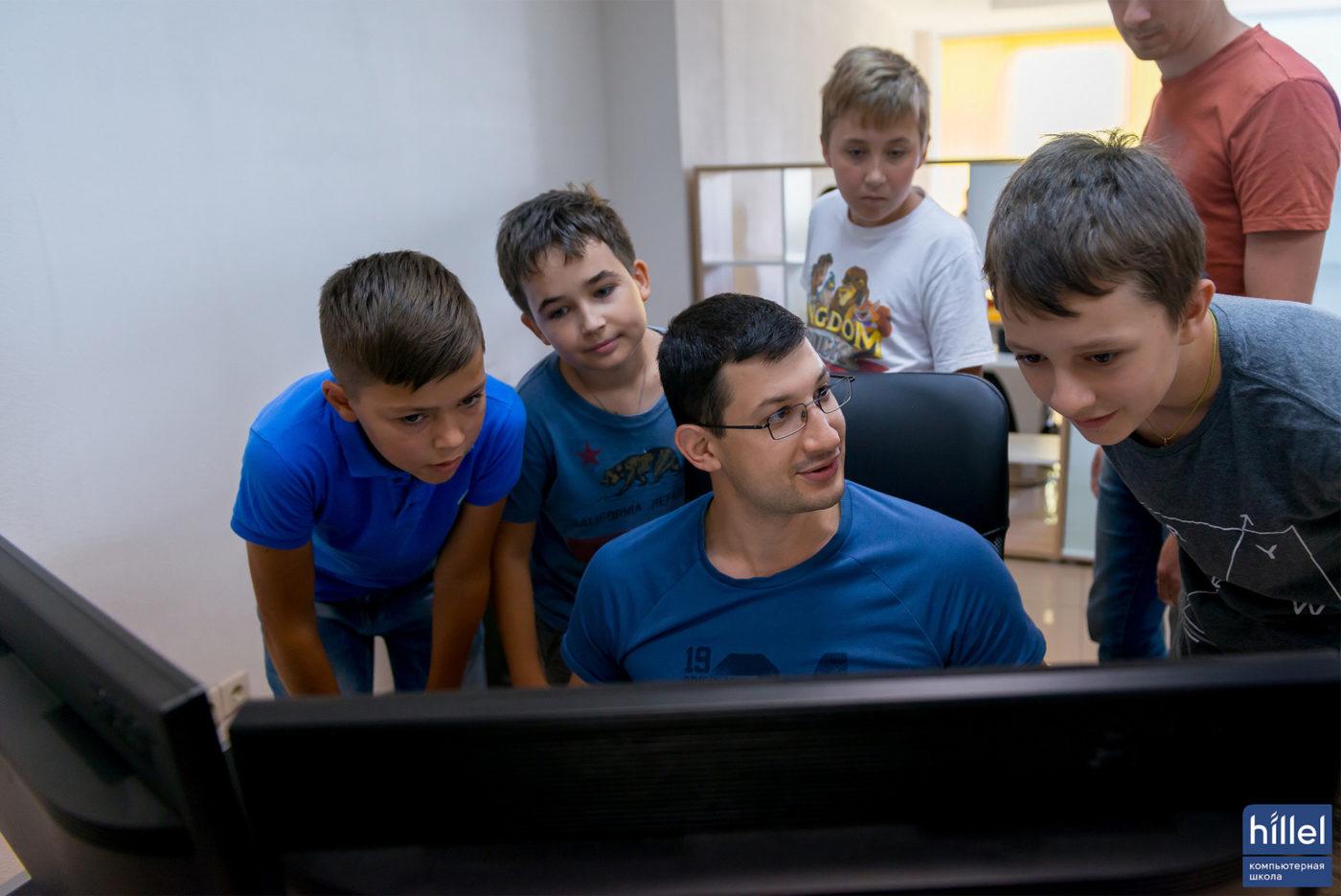 Мероприятия: Открытый урок для детей «Сайт-визитка своими руками» в Днепре