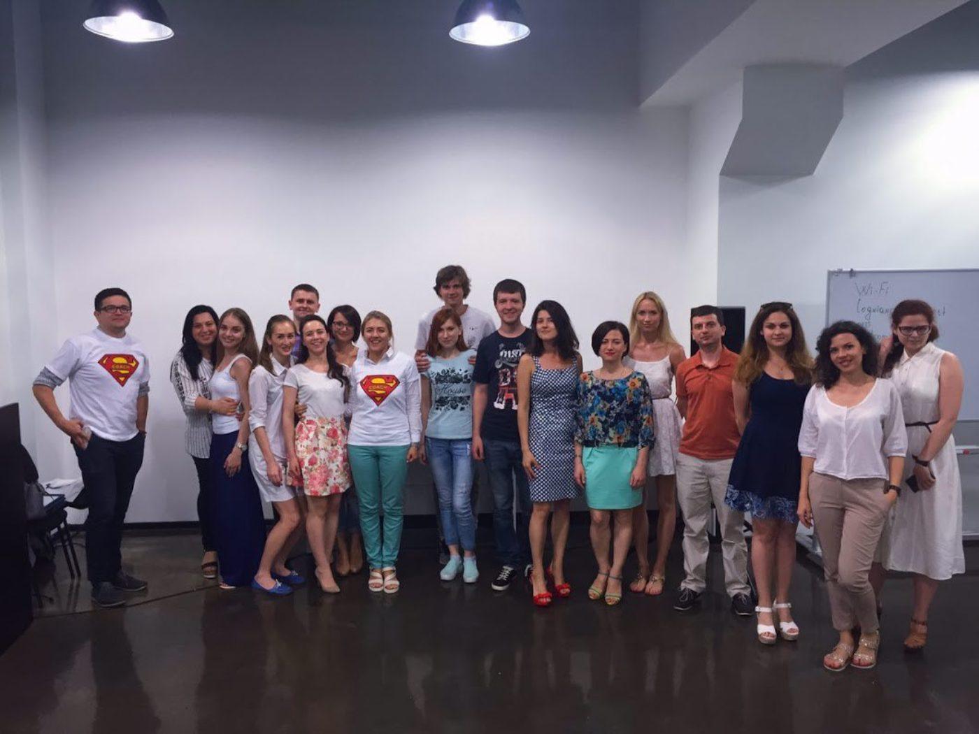 Новости школы: Выпуск групп PM и SMM в Cogniance в Киеве