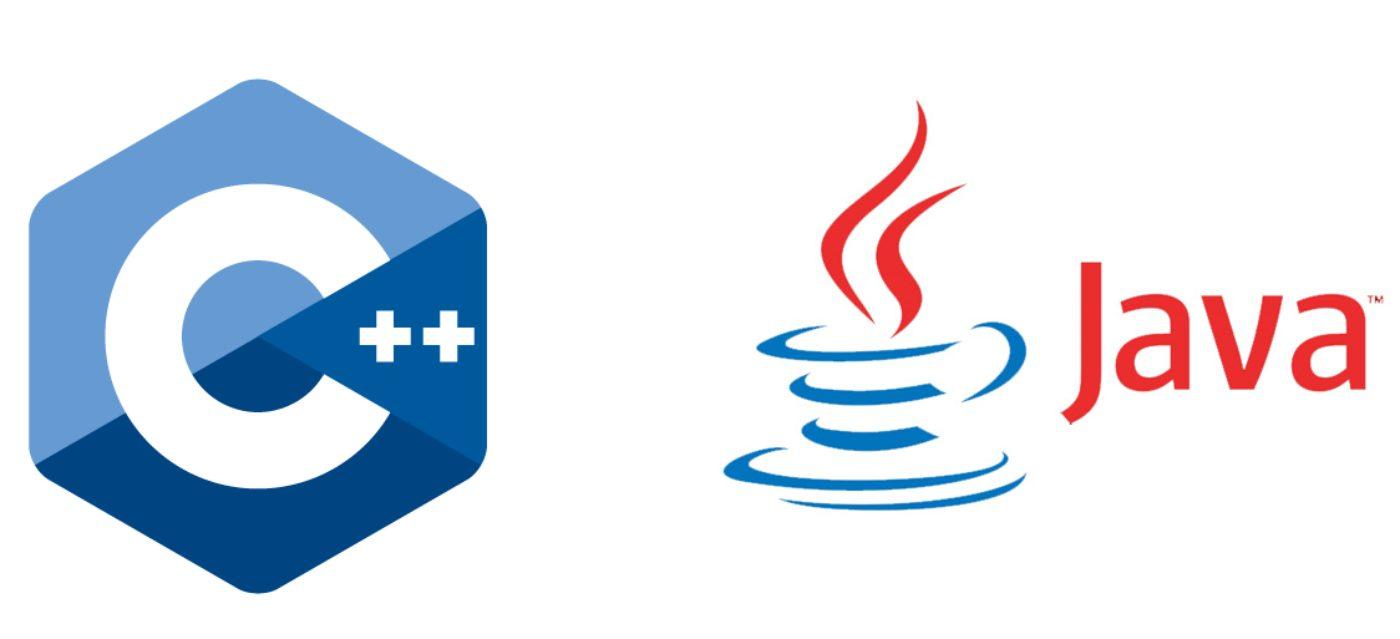 Статьи: Разница между языками программирования C++ и Java