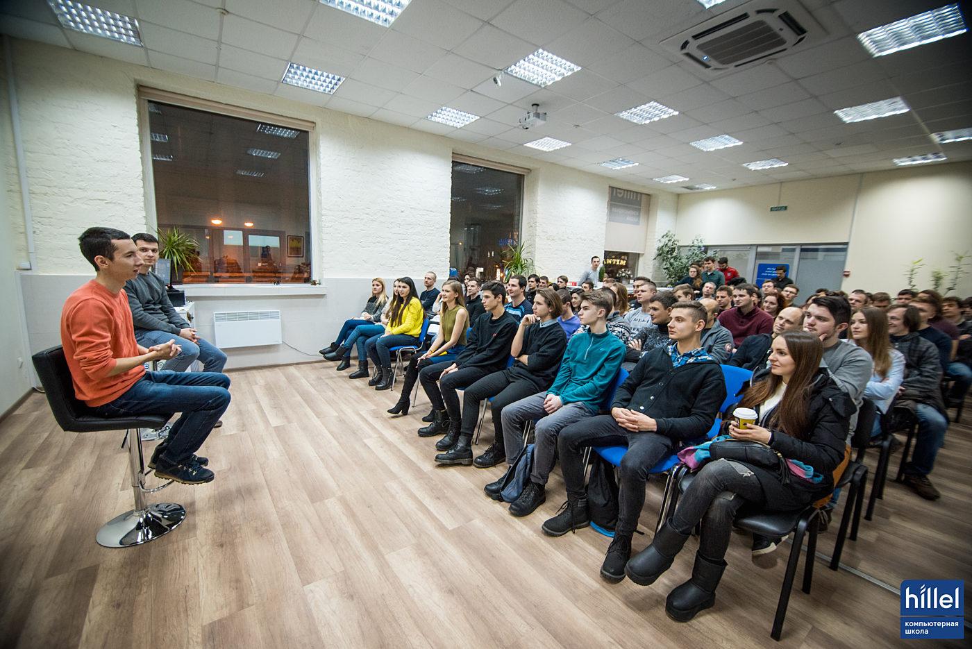 Новости школы: Одессу охватила всемирная линзомания от Looksery. Встреча в Компьютерной школе Hillel