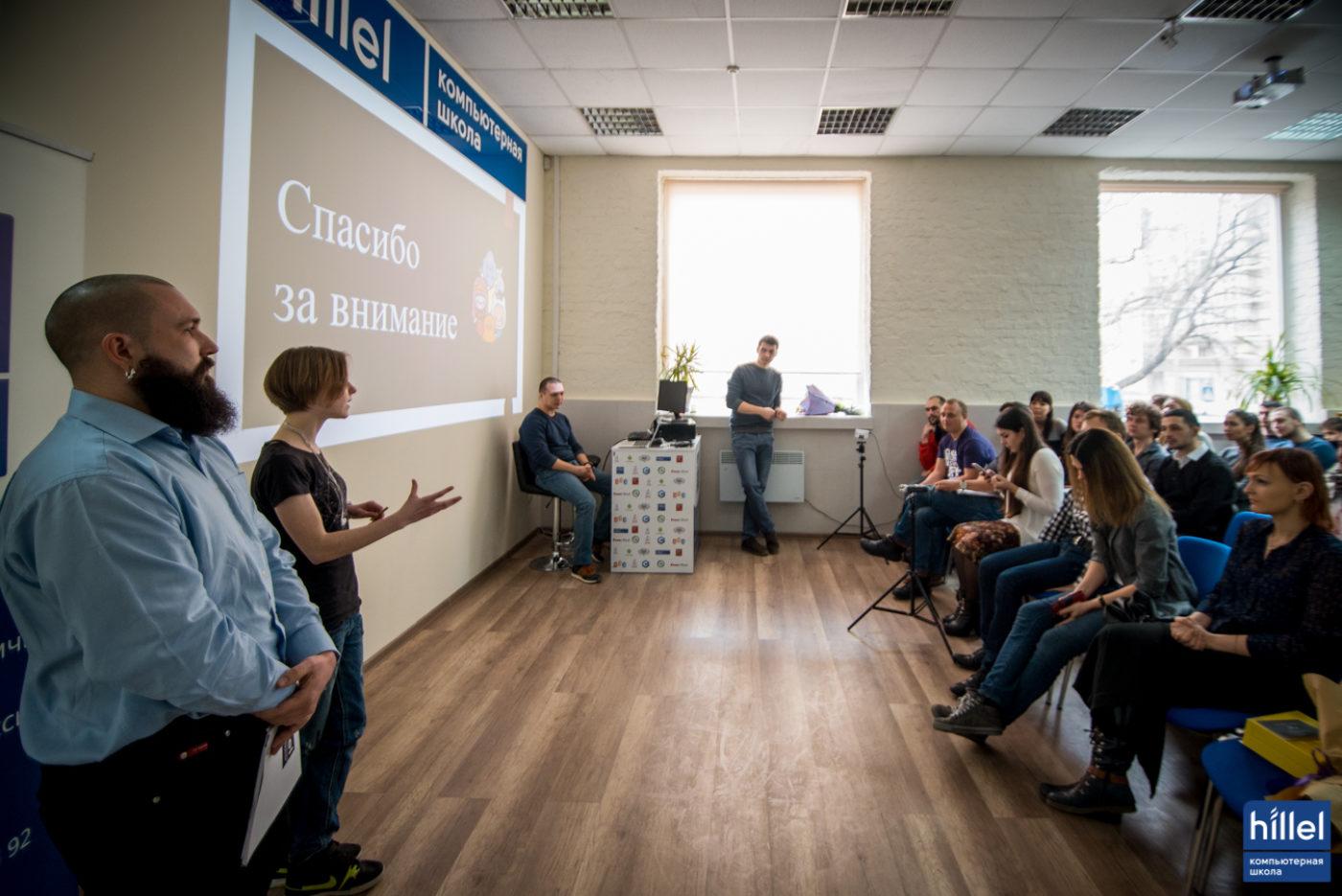 Новости школы: Презентация рабочих прототипов программы Hillel Evo