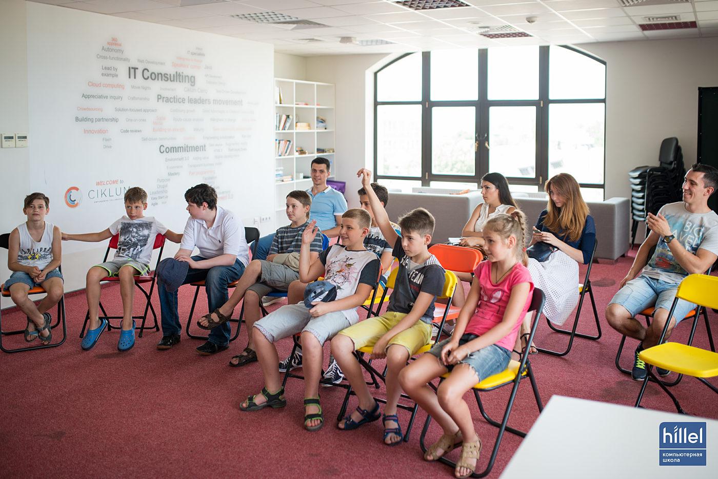 Новости школы: Детский день в Компьютерной школе Hillel 14 января