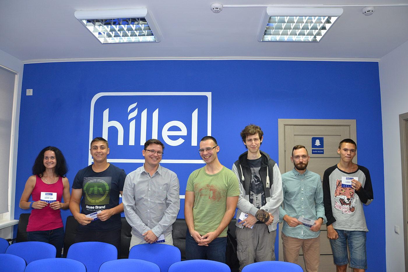 Новости школы: Презентация рабочих прототипов программы Hillel Evo в Киеве