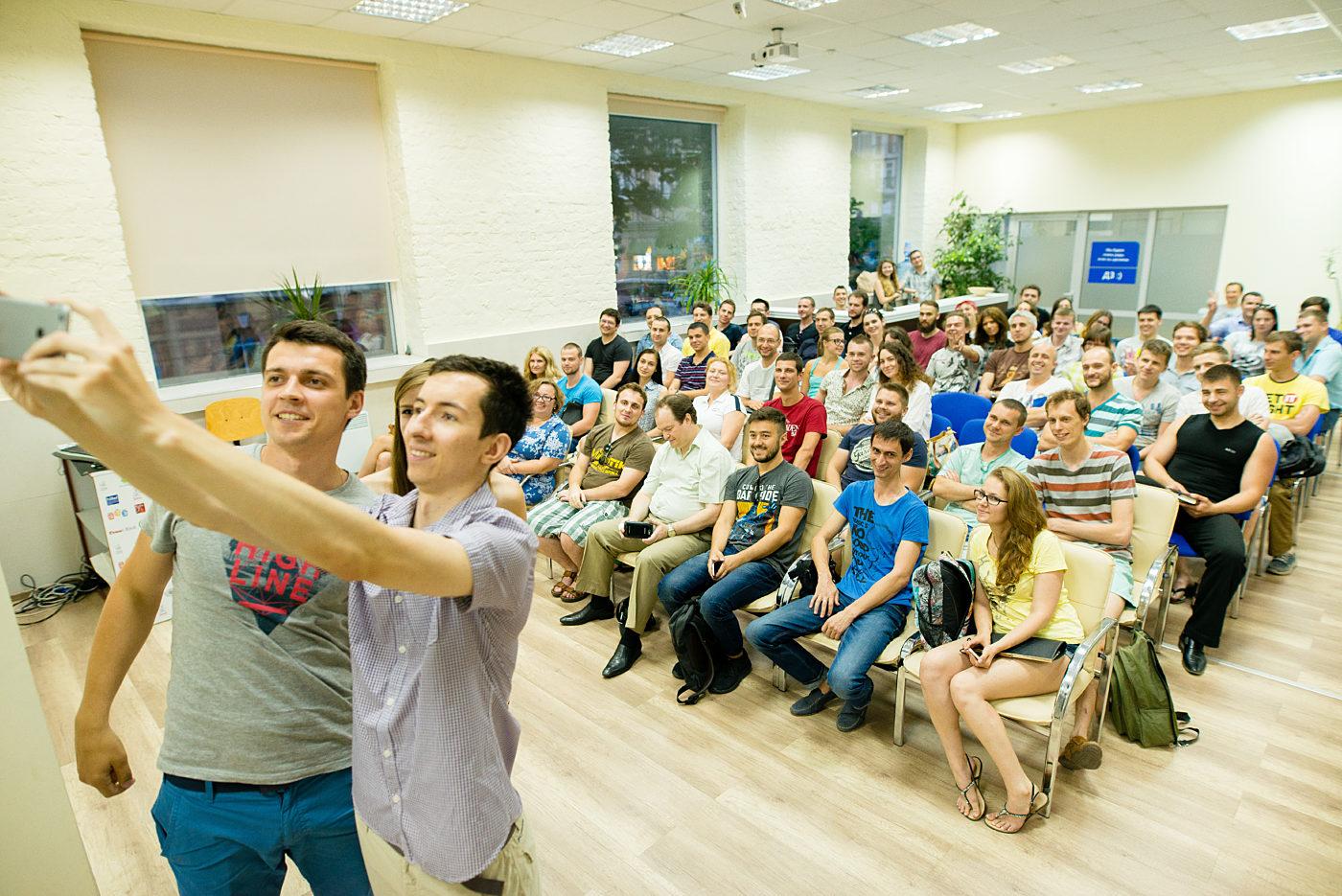 Новости школы: Встреча «Всемирная линзомания от Looksery. Год работы одесситов в США»