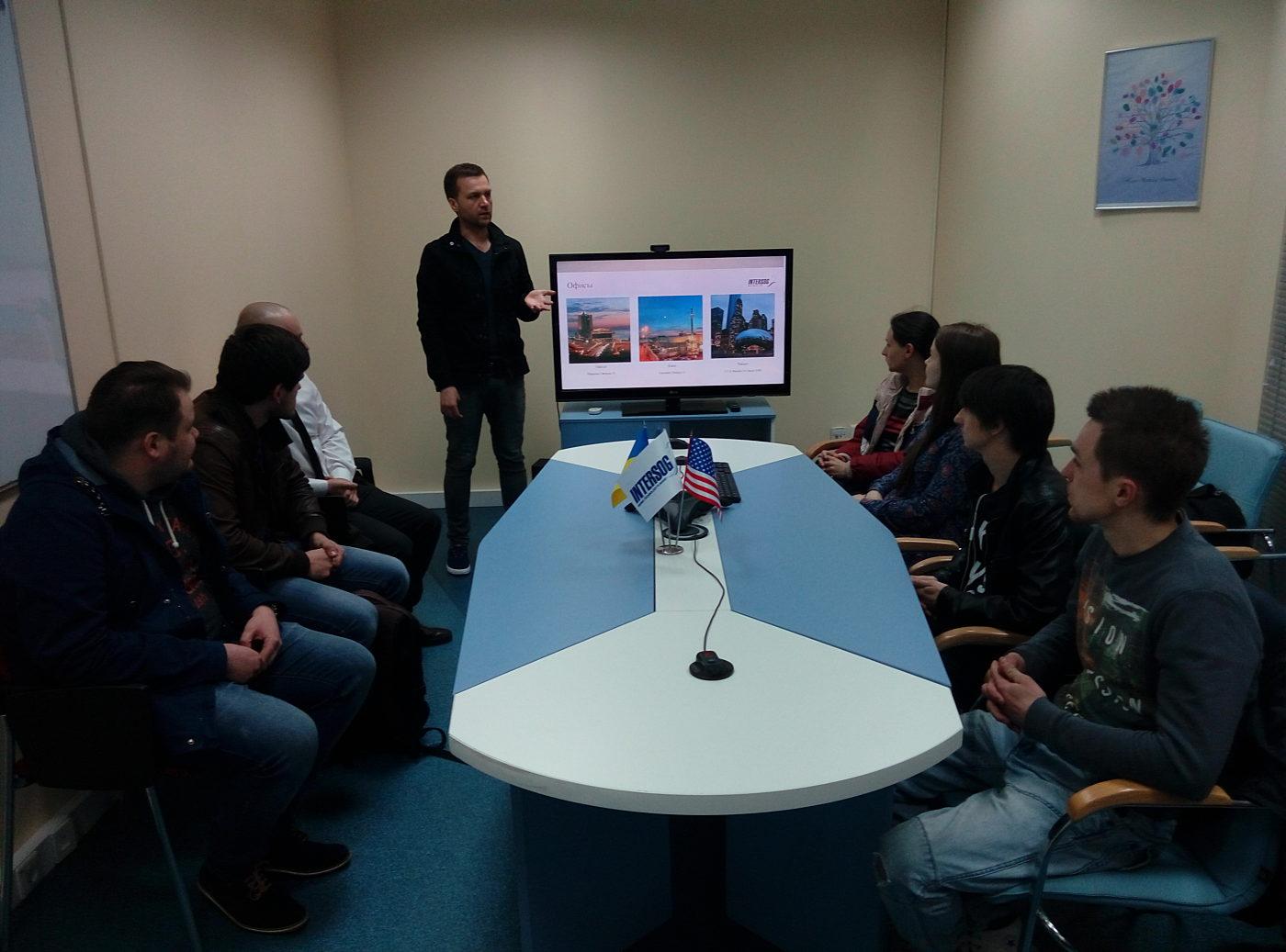 Новости школы: Выпуск киевских групп QA и PM в компании Intersog