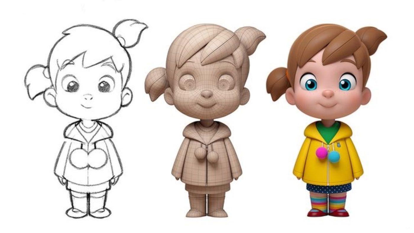 Мероприятия: Мастер-класс для детей «Создание персонажа» в Днепре