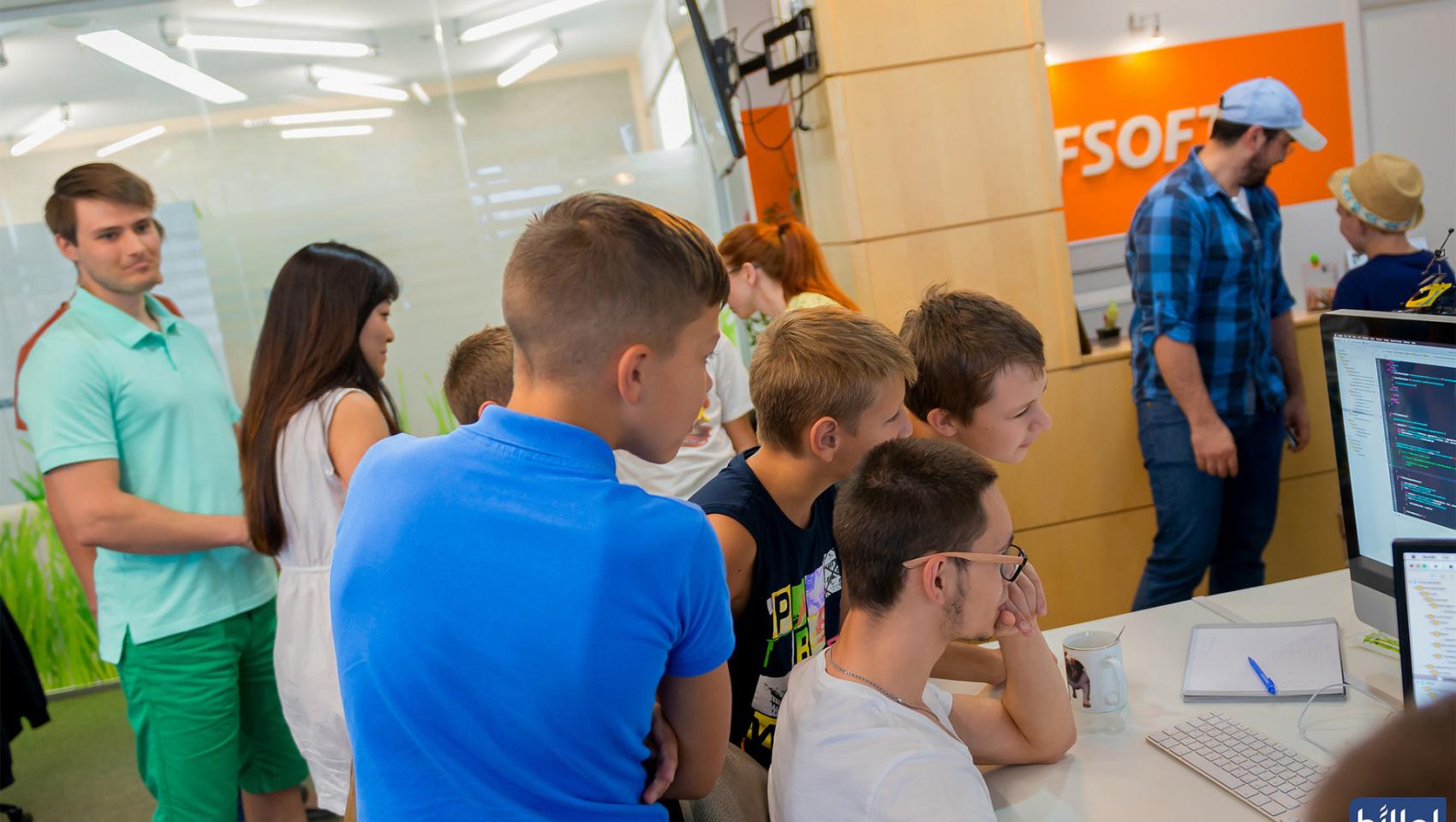 Открытый урок для детей «Создай игру на Unity» в Днепре