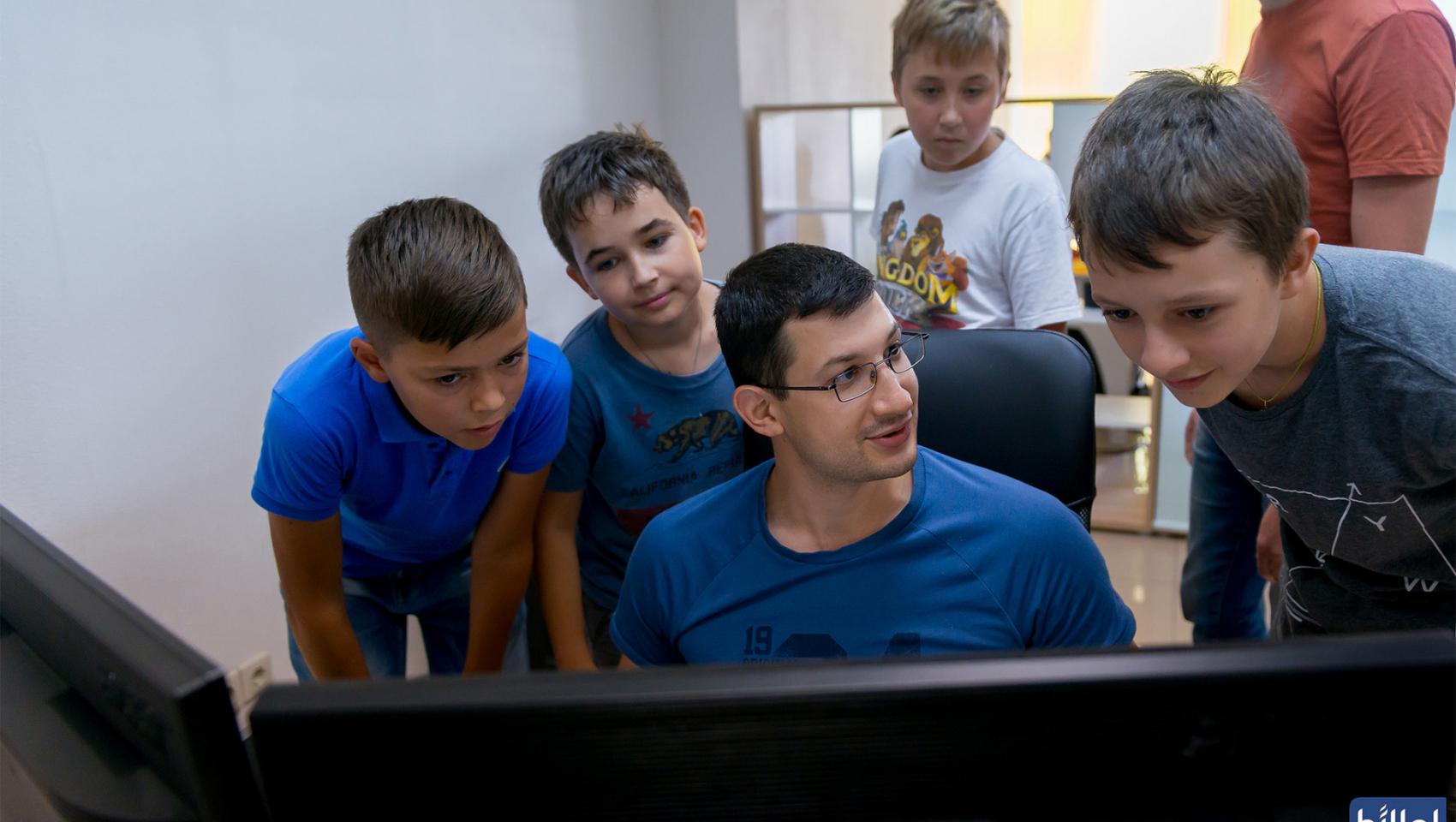 Открытый урок для детей «Сайт-визитка своими руками» в Днепре
