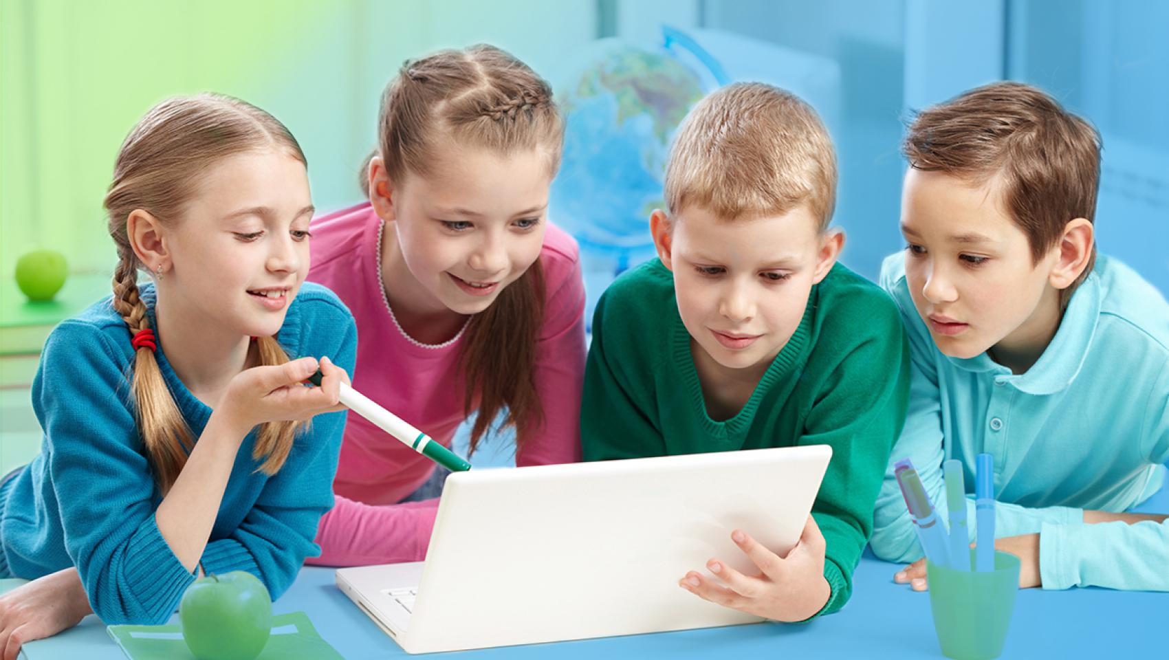 Детский день в Компьютерной школе Hillel в Киеве 1 февраля