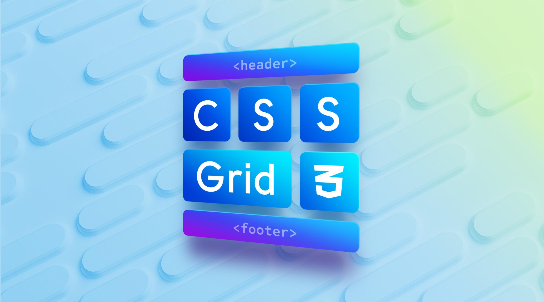 HTML верстка макета на CSS Grid