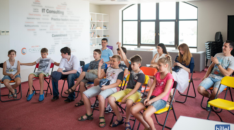 Детский день в Компьютерной школе Hillel 14 января