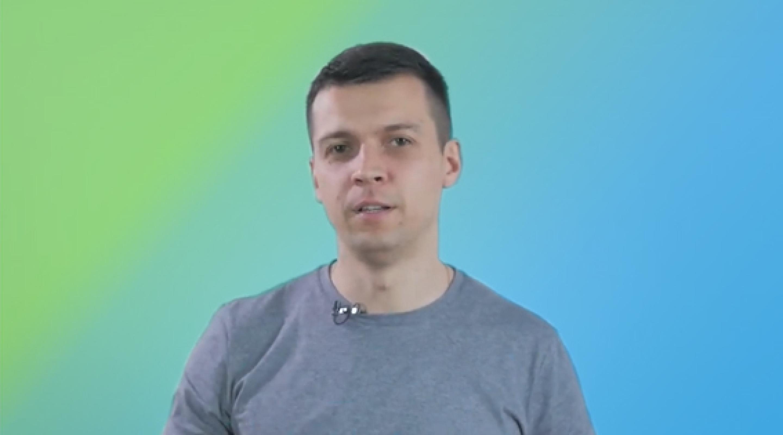 Вадим Друмов в сюжете для канала Україна