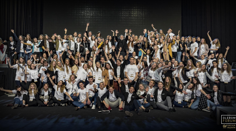 Olerom Forum 1. Главное бизнес-событие года глазами волонтера.