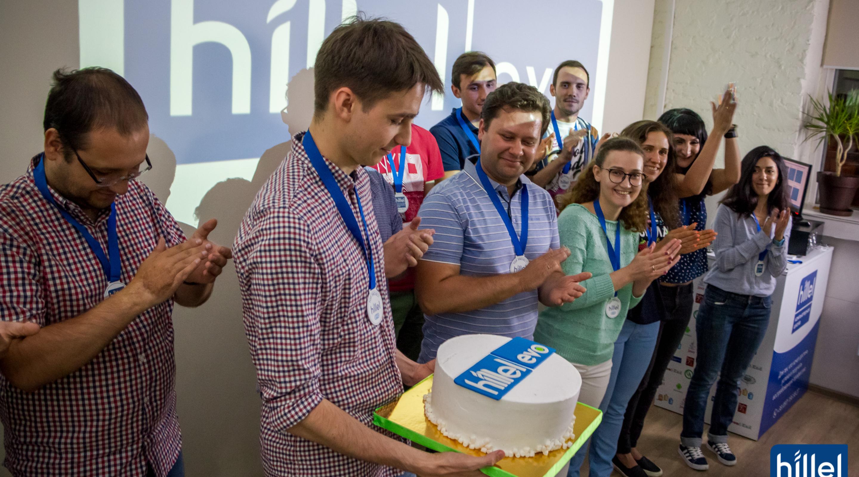 Презентация рабочих прототипов проектов в рамках второго цикла программы Hillel Evo в Одессе