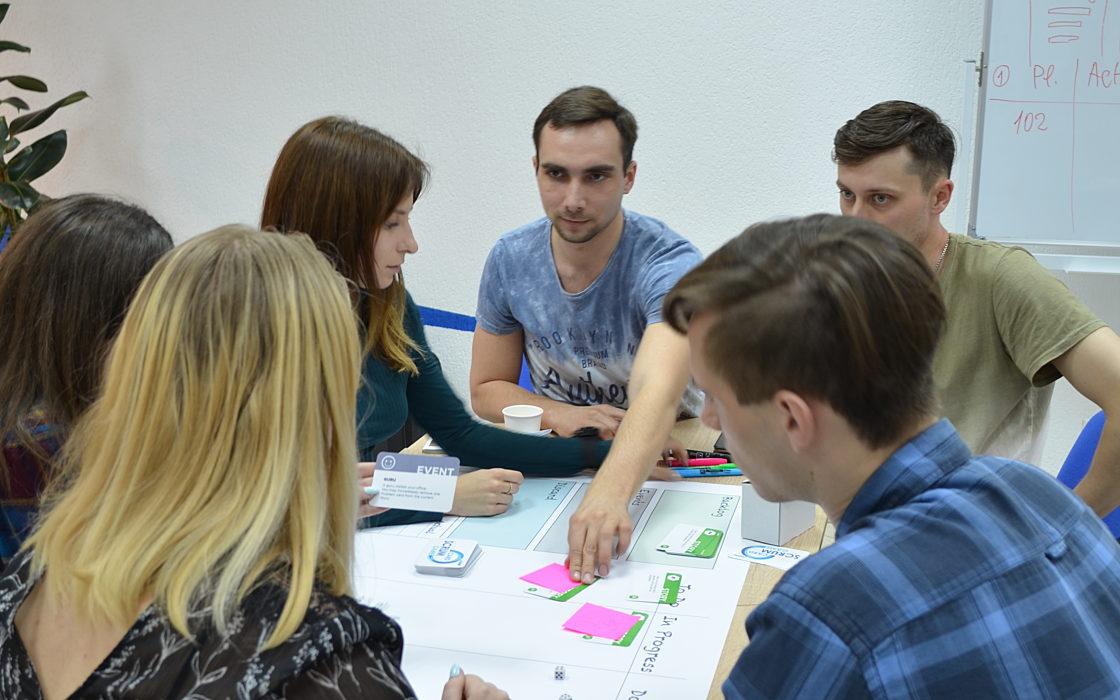 Новости школы: Scrum Card Game в Харькове фото 4