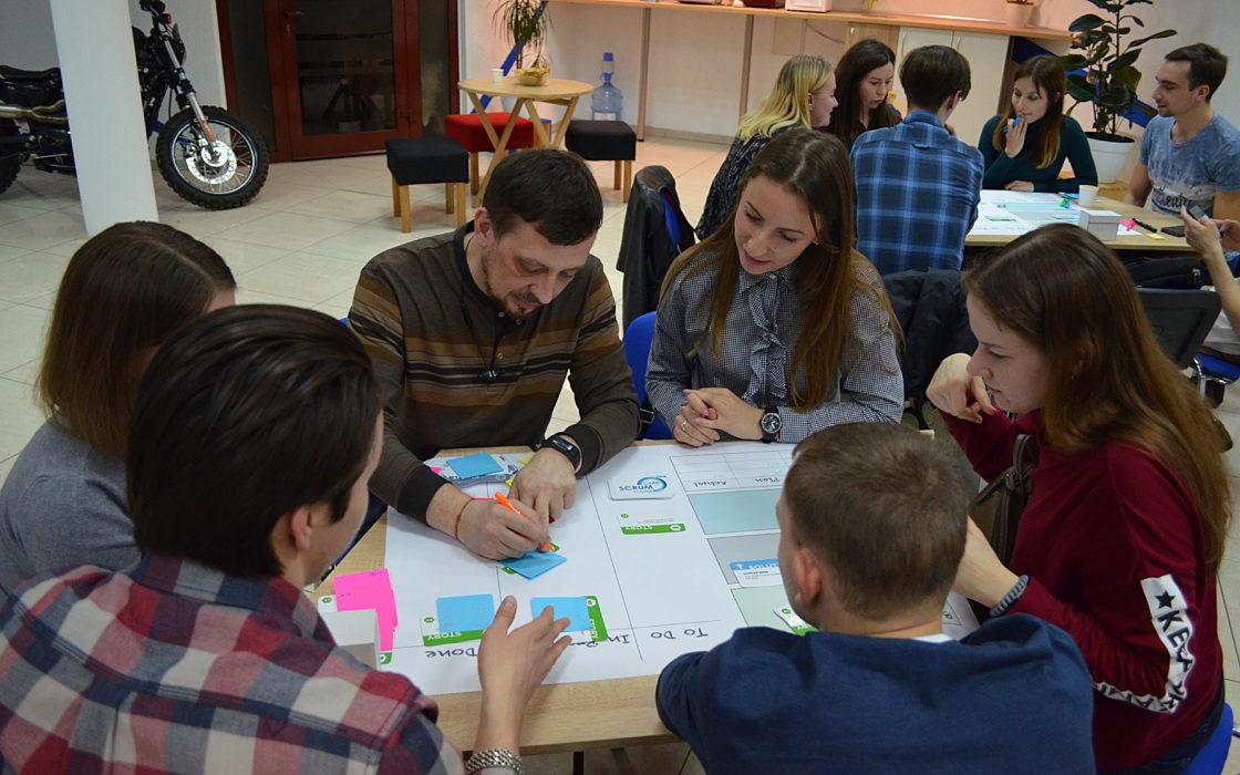 Новости школы: Scrum Card Game в Харькове фото 3