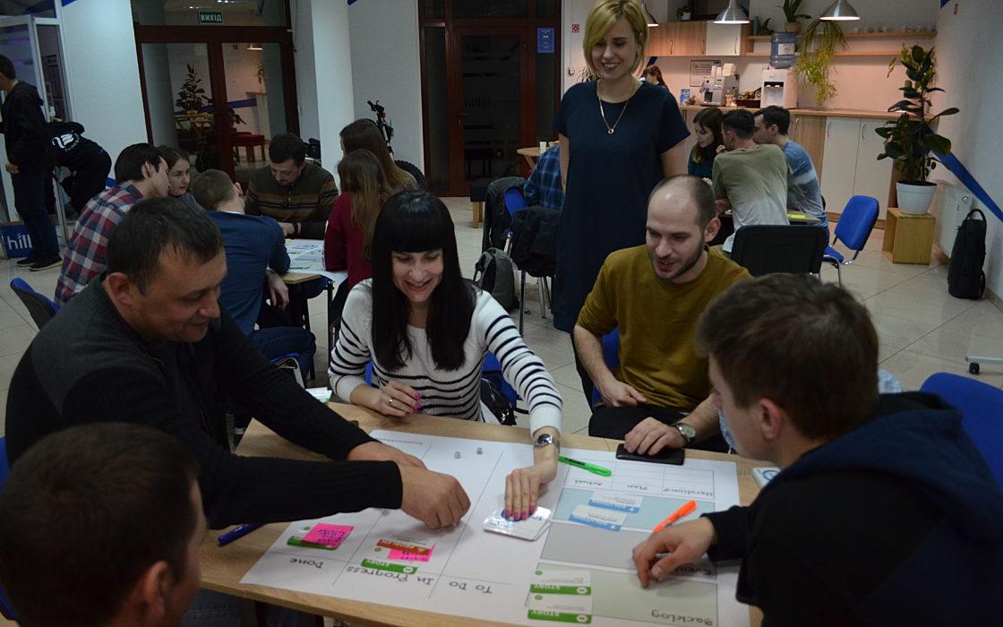 Новости школы: Scrum Card Game в Харькове фото 1