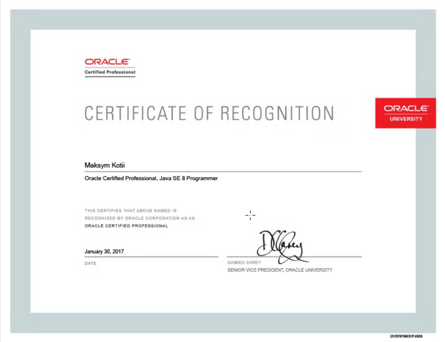 Статьи: Как подготовиться к сдаче экзамена Oracle Certified Professional Java SE 8 Programmer. Большинство западны