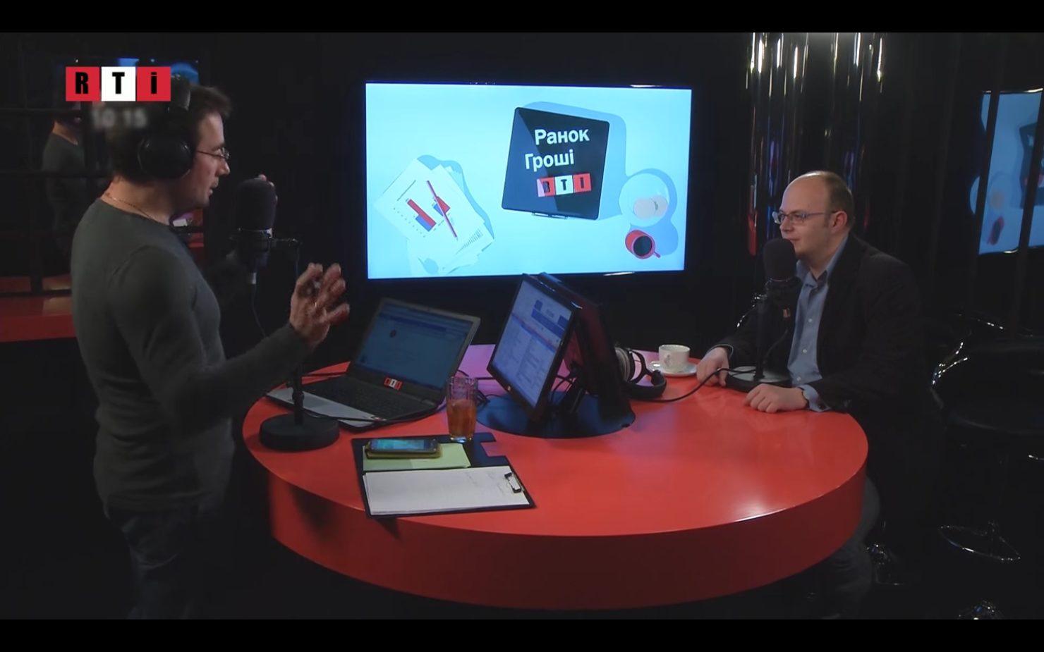 Статьи: Интервью с Евгением Толчинским на телеканале RTI.