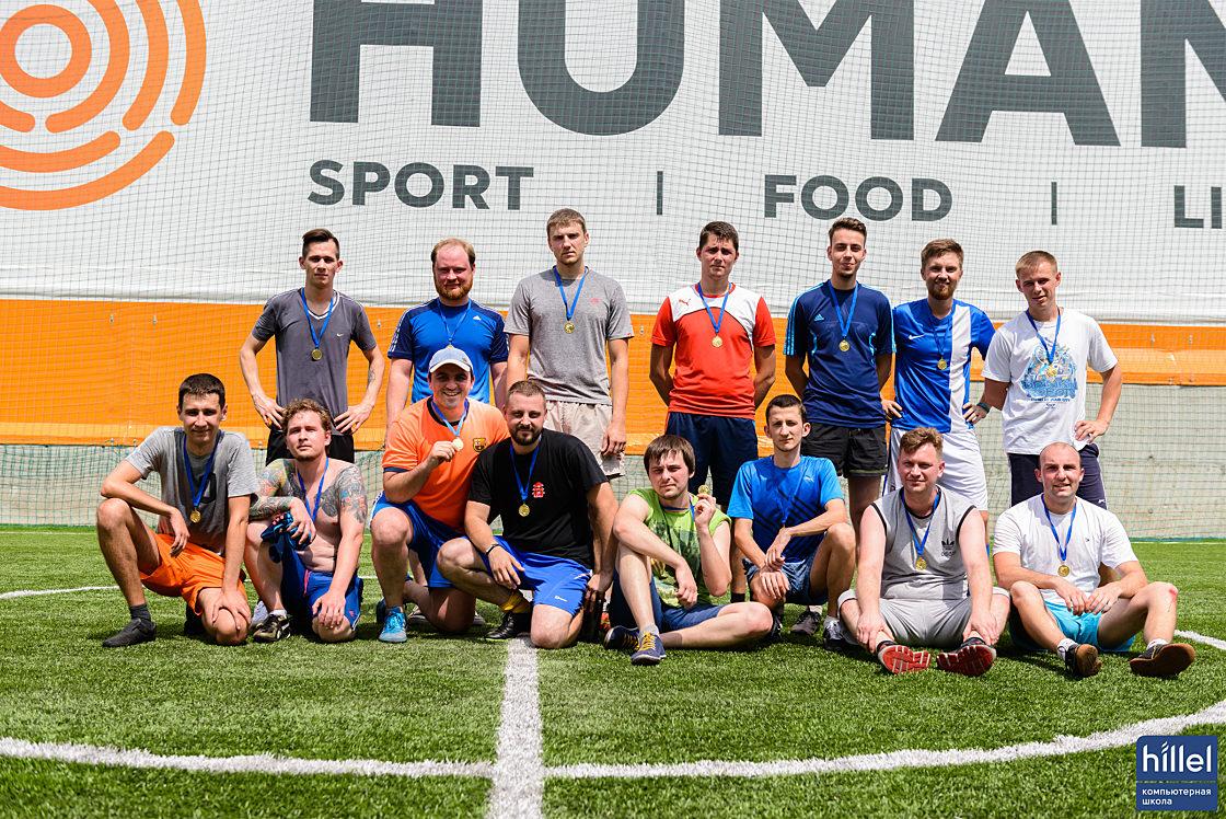 Новини школи: У футбол грають справжні айтішники. Товариський футбольний матч у Дніпрі.. Все у зборі