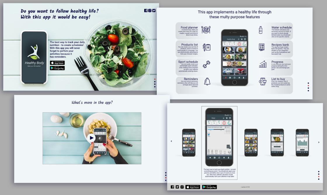 Статті: 8 етапів розробки UI/UX дизайну мобільного додатка. Промо-сайт