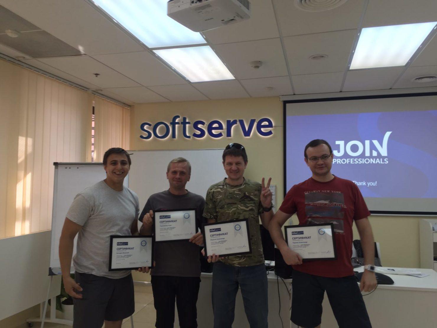 Новости школы: Позитивный софт. Выпускной курсов Project Management, Java и Front-End Basic в Киеве.