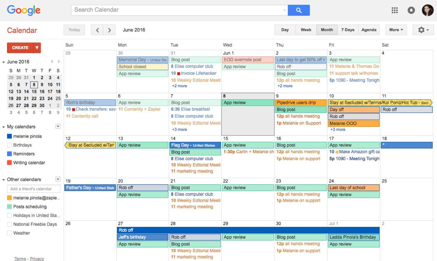Статьи: 3 инструмента для самоорганизации. Календарь — отличный инструмент для планирования своего времени.