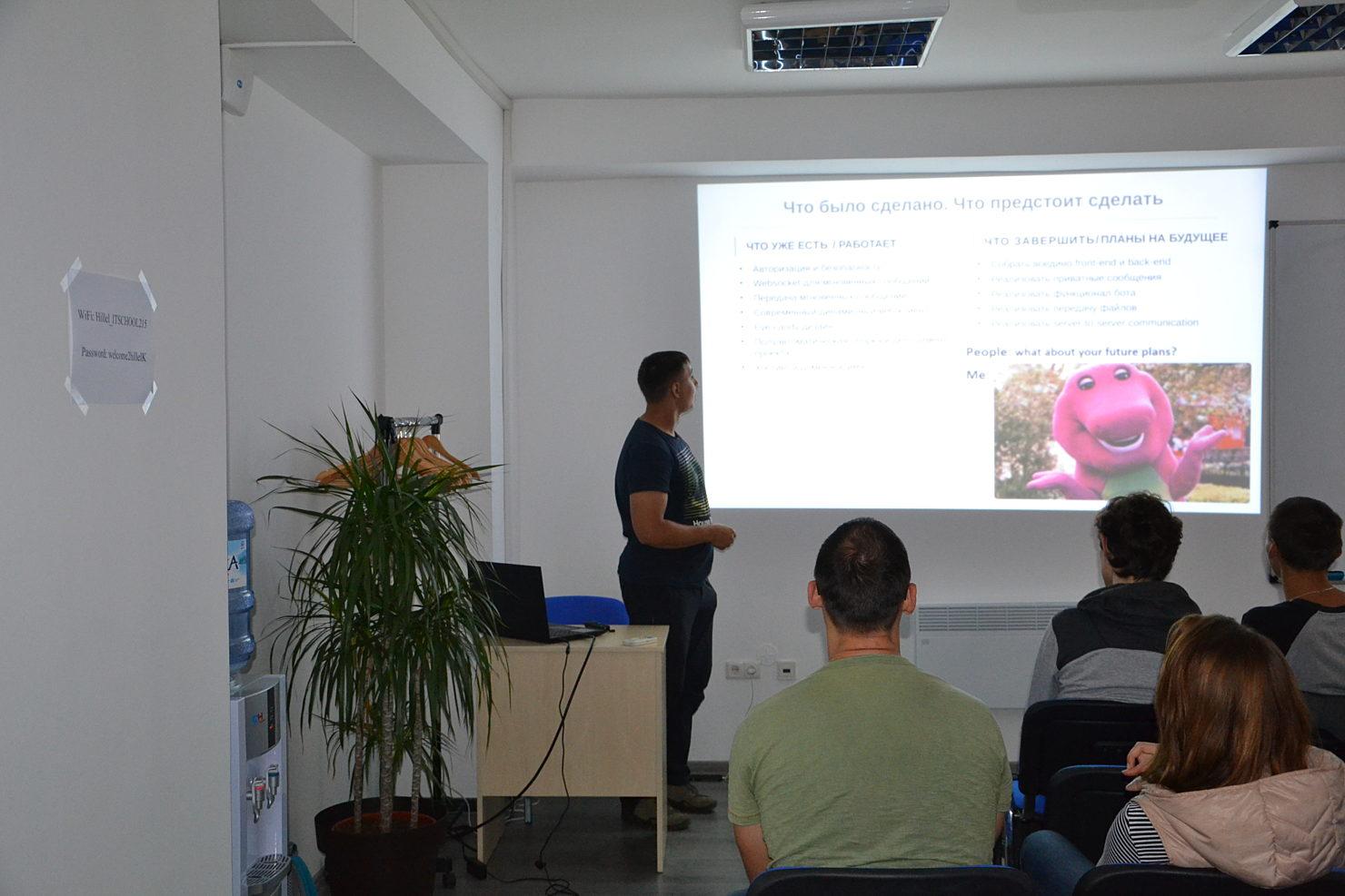 Новости школы: Презентация рабочих прототипов программы Hillel Evo в Киеве. За время работы над проектом Студенты и Выпускники освоили новые те