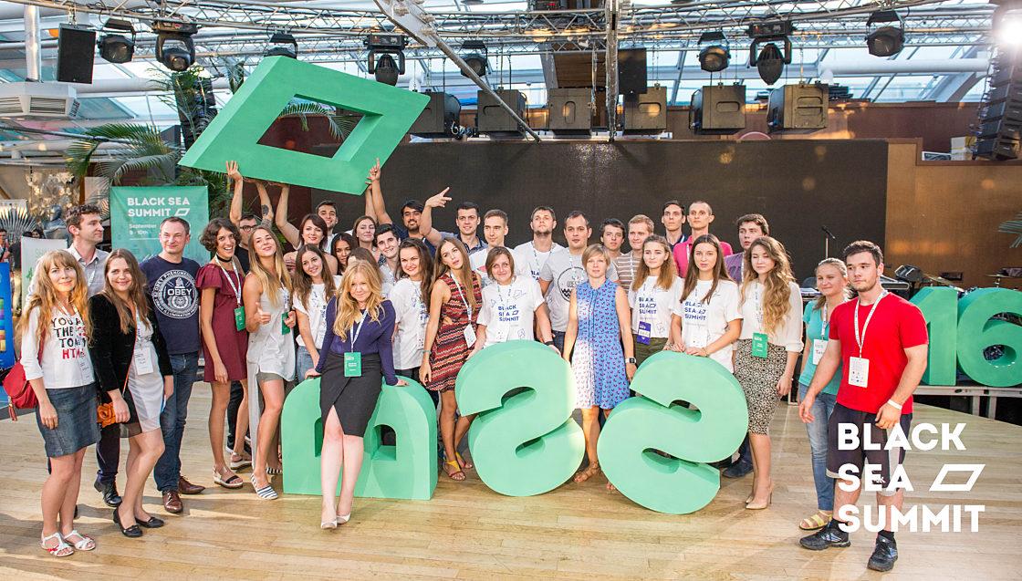 Новости школы: На инновационной ноте. Рекорды конференции Black Sea SummIT 2016. Группа организаторов Black Sea SummIT 2016