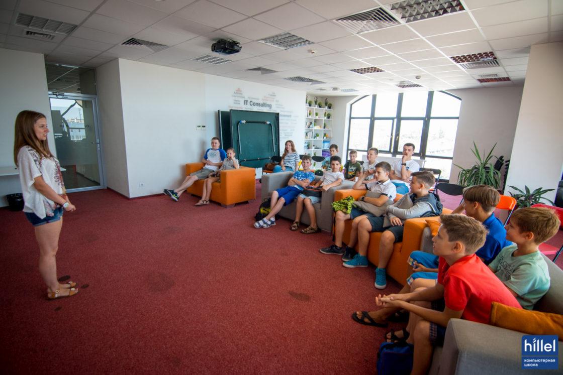 Новости школы: Детский IT-лагерь — лучший способ провести две недели летних каникул. Ребята могут выбрать то направление, которое их больше привлекает