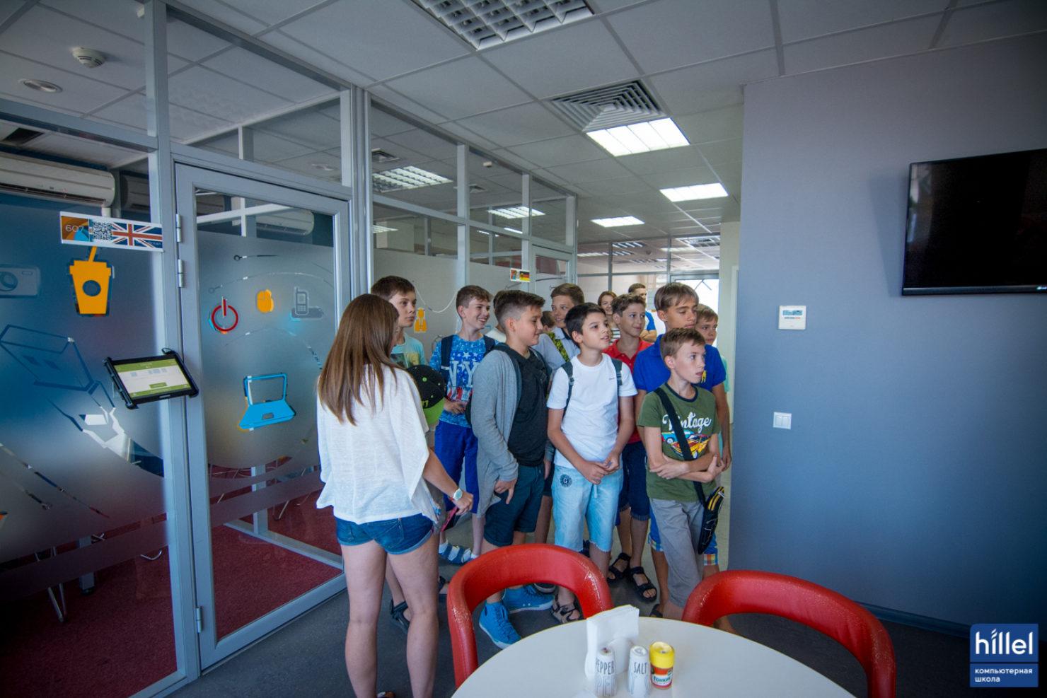 Новости школы: Второй выпускной IT-лагеря Компьтерной школы Hillel.