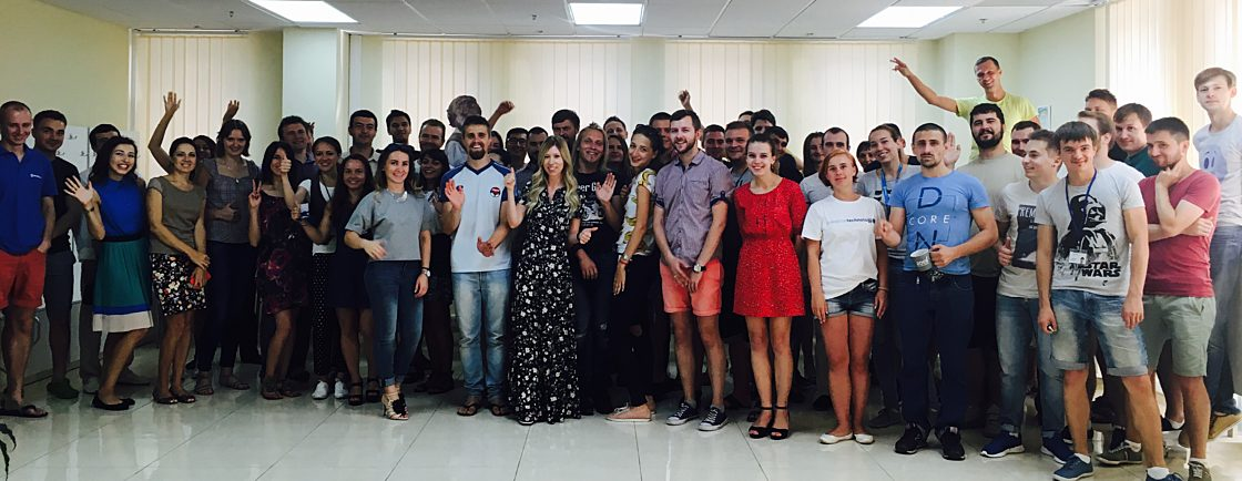 Интервью: Елена Лебедева: «Мы следим за трендами и всегда открыты к инновациям». Коллектив киевского офиса компании SoftServe