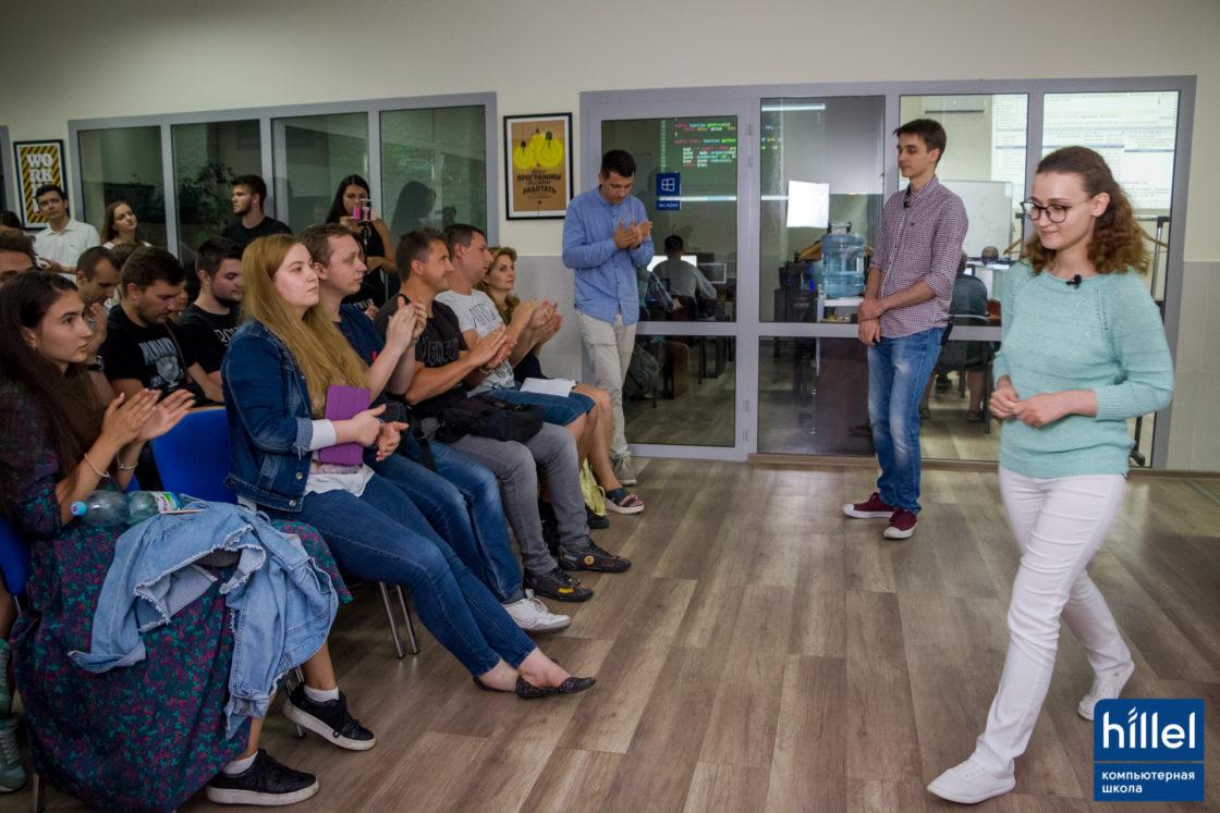 Новости школы: Презентация рабочих прототипов проектов в рамках второго цикла программы Hillel Evo в Одессе. Презентация проекта CityElf