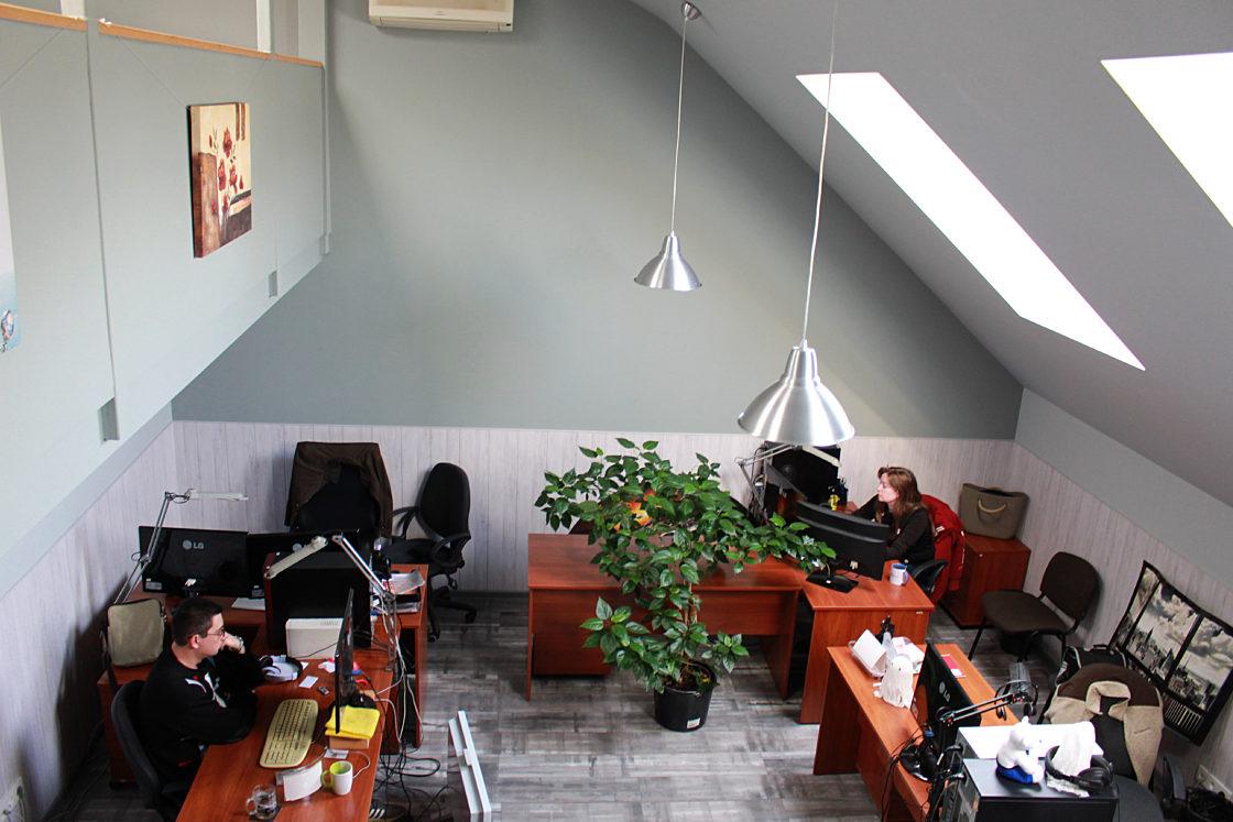 Интервью: Дмитрий Письменный: «Основное отличие IT от других отраслей — это люди». Уютный офис компании в Днепре