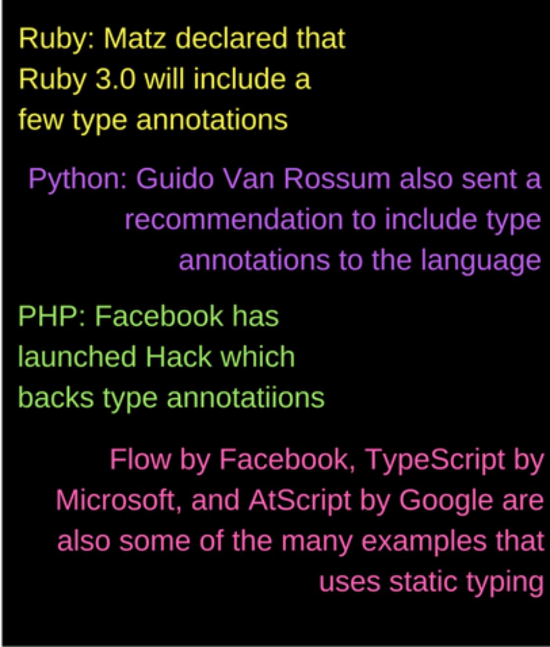 Статьи: Строгая типизация: Typescript, Flow, Javascript — быть или не быть?.