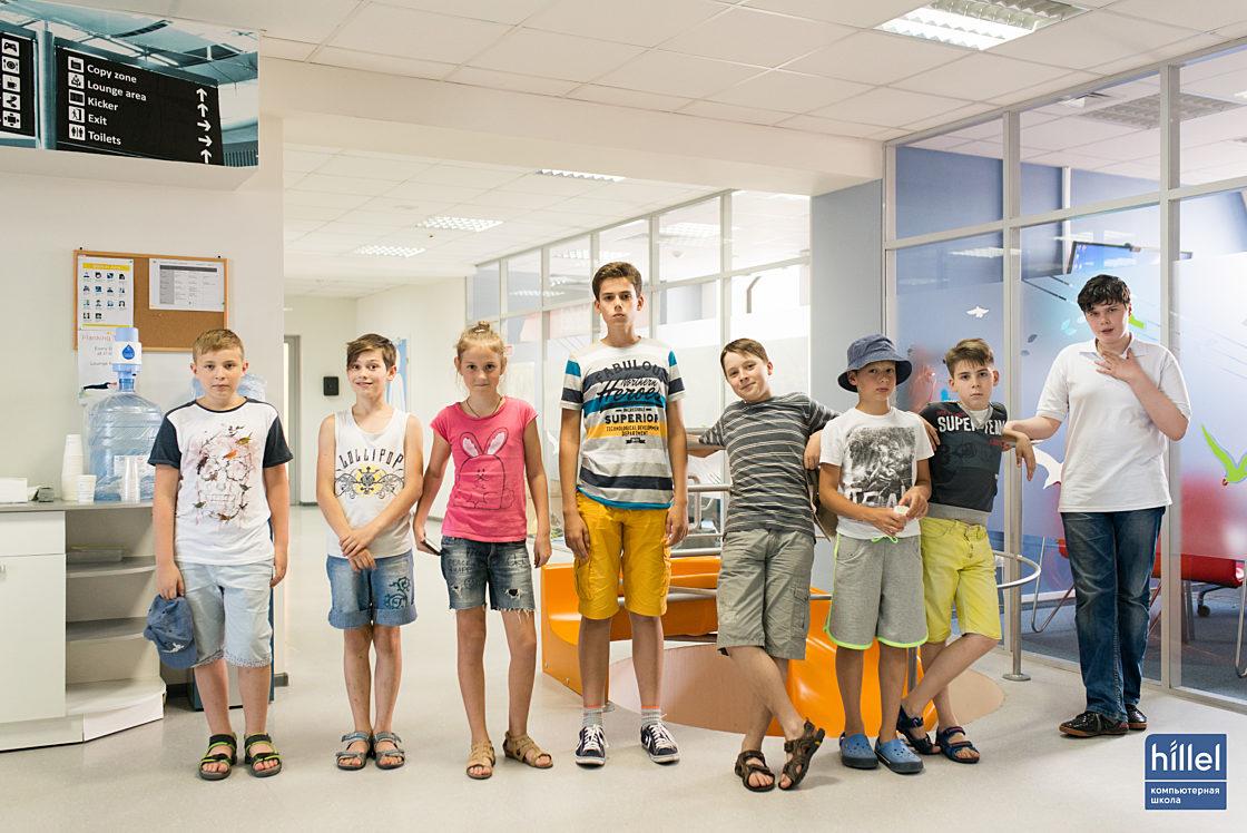 Новости школы: Первый выпуск детского IT-лагеря Компьютерной школы Hillel.
