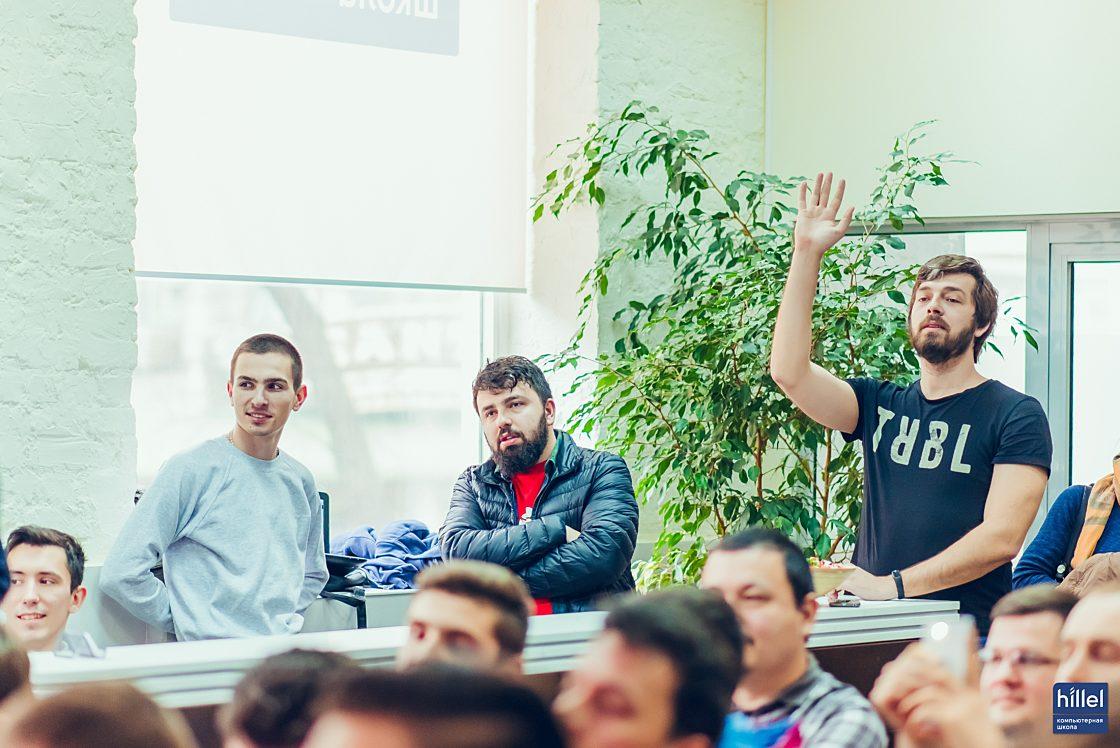 Мероприятия: Презентация рабочих прототипов программы Hillel Evo. Зрители в зале активно задавали вопросы