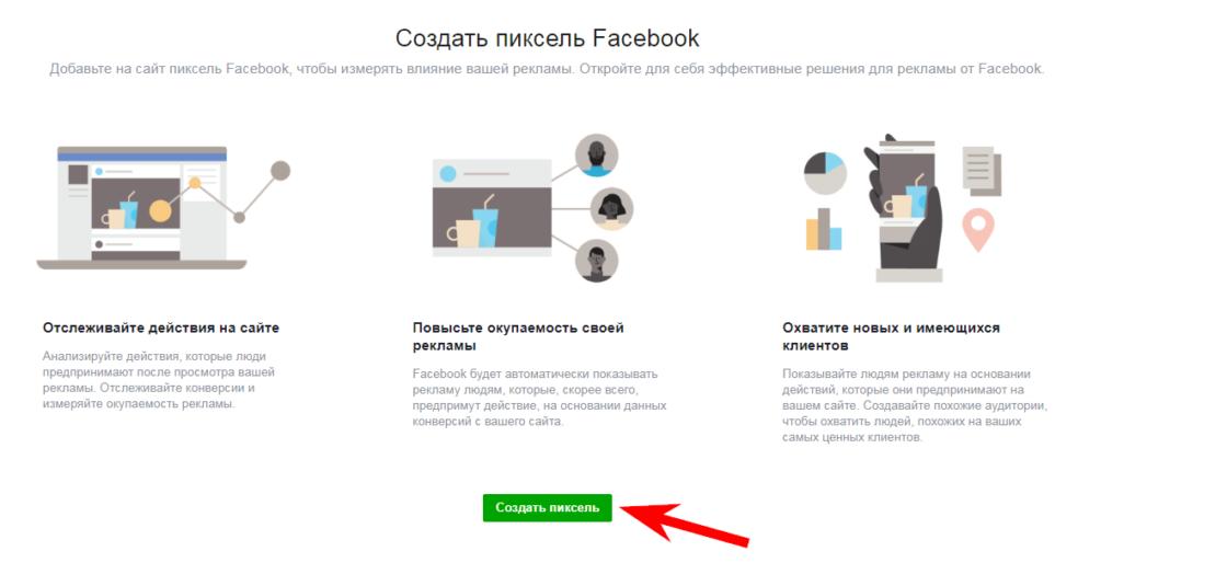 Статті: Динамічна реклама в Facebook: що це і як її налаштувати. Налаштування Pixel