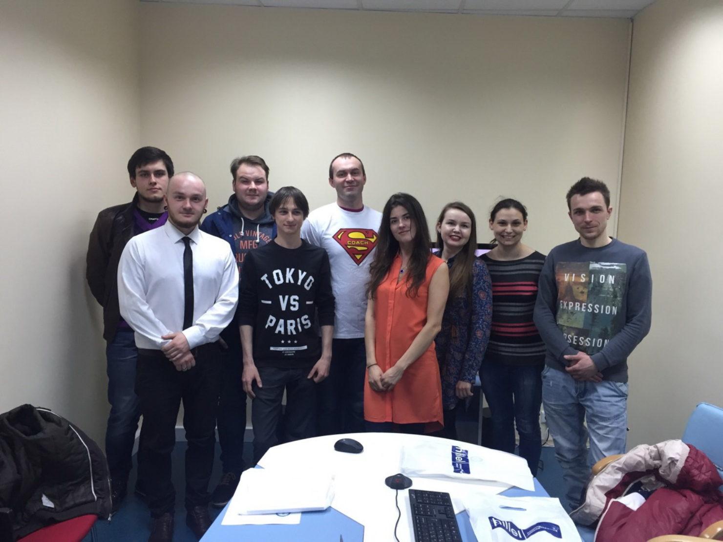 Новости школы: Выпуск киевских групп QA и PM в компании Intersog.