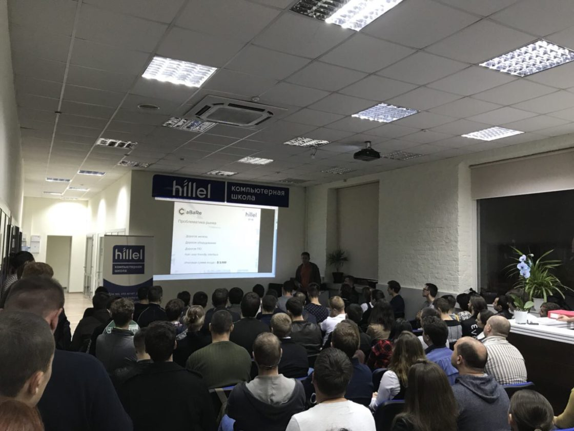 Мероприятия: Питчинг идей третьего цикла программы Hillel Evo в Одессе. Презентация проекта CaBaRe