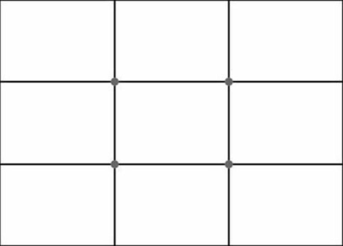 Статьи: 5 принципов создания цепляющих фотографий. Правило третей