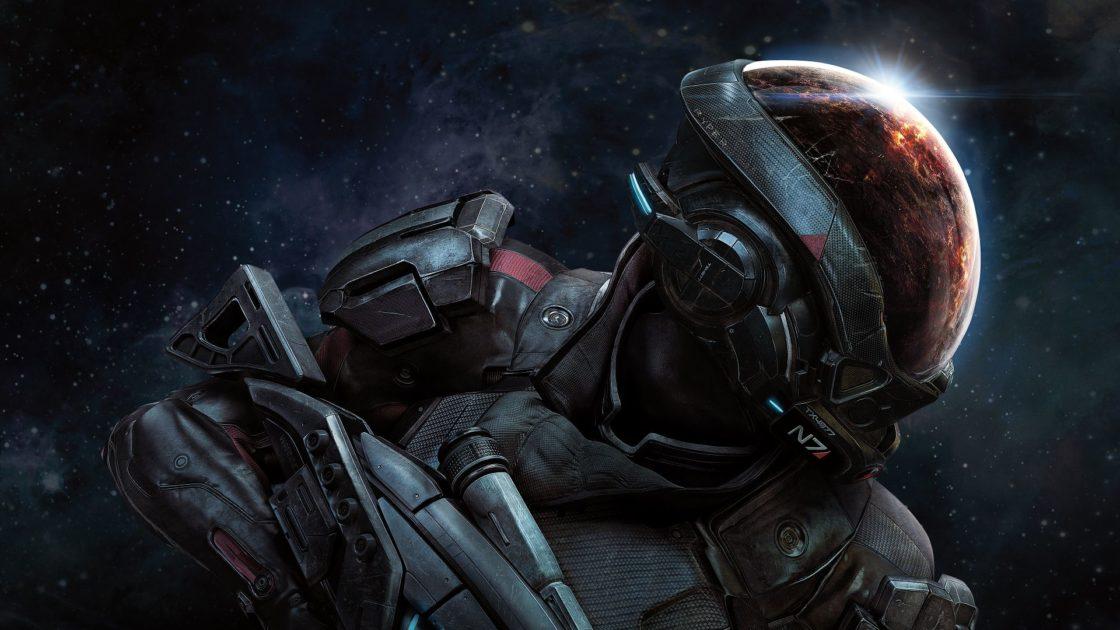Статьи: Как создают игры, в которые играют миллионы. Постер игры Mass Effect Andromeda