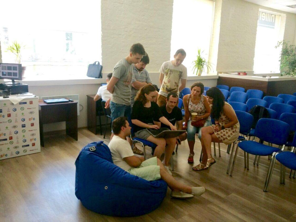 Мероприятия: Презентация рабочих прототипов проектов в рамках второго цикла программы Hillel Evo. Рабочий процесс команды CityElf